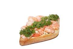 Petisco do camarão imagem de stock royalty free