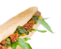 Panini sandwich Stock Photo