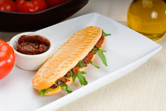 Panini sandwich Stock Photo