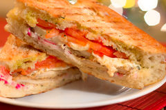 Panini Sandwich Stock Image