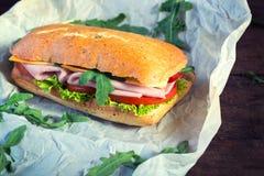 Panini Sandwich lizenzfreies stockfoto
