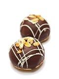 Panini saporiti del cioccolato Fotografia Stock Libera da Diritti