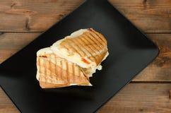 Panini smörgåsar italien Fotografering för Bildbyråer
