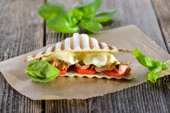 Panini with tuna Stock Photos