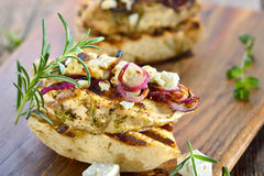 Panini With Rosemary Chicken Royalty Free Stock Photos