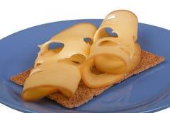 Panino con formaggio Fotografie Stock