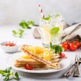 Panino con l'ananas, Fotografia Stock Libera da Diritti