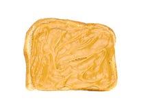 Panino del burro di arachide Fotografia Stock