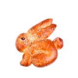 Panino del coniglio di Pasqua Immagini Stock Libere da Diritti