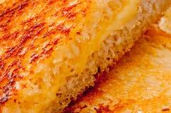 Panino del formaggio Immagini Stock