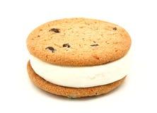 Panino del gelato del biscotto Immagine Stock Libera da Diritti