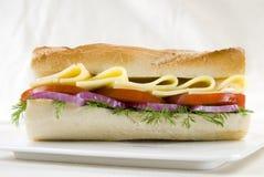 Panino del pane bianco immagini stock