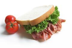 Panino del pranzo Fotografia Stock