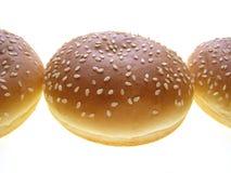 Panino dell'hamburger Fotografia Stock Libera da Diritti
