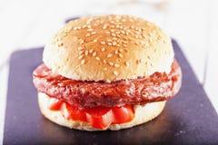 Panino dell'hamburger immagine stock libera da diritti