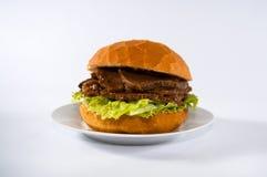 Panino della carne Immagine Stock