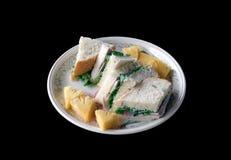Panino della carne di maiale su Bequia Fotografie Stock