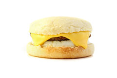 Panino della prima colazione Fotografie Stock Libere da Diritti