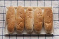 Panino di hot dog Fotografia Stock Libera da Diritti