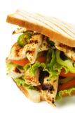 Panino di pollo Fotografie Stock