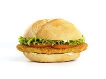 Panino di pollo Immagine Stock Libera da Diritti