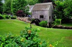 Panino, mA: Dexter Grist Mill 1637 immagini stock