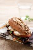 Panino, pomodoro e lattuga di pollo fotografie stock