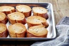 Panino tostato del pane immagini stock
