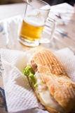 Panino Royalty Free Stock Images