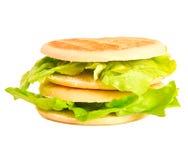 Panino vegetariano Fotografie Stock