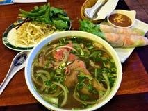 Panino vietnamita di Banh MI della carne di maiale Immagini Stock