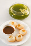 Panipuri or Gol Gappa or Chaat Stock Images