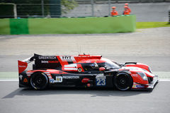 Panis Barthez Competition Ligier Sports Prototype Royalty Free Stock Images