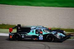 Panis Barthez Ligier LMP2 prototypprov på Monza Fotografering för Bildbyråer