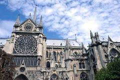 paniusi katedralny notre Zdjęcie Royalty Free