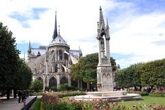 paniusi katedralny notre Zdjęcia Royalty Free