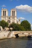 paniusi notre Paris zdjęcie stock
