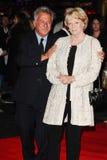 Dustin Hoffman, paniusia Maggie Smith Zdjęcia Royalty Free