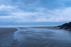 Panjang de Pantai do estuário Fotografia de Stock