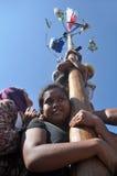 Panjat Pinang Royalty Free Stock Photography
