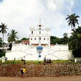 Panjim church Goa Stock Image