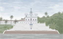 Panjim Church Royalty Free Stock Photo