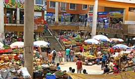 Vegetables and Fruits Market at Panjim, Goa Royalty Free Stock Photography