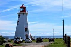 Panmure Island Lighthouse Stock Photos
