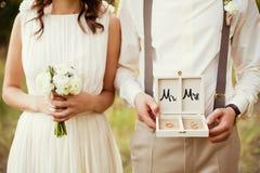 pannę młodą ceremonii ślub kościelny pana młodego Zdjęcie Royalty Free