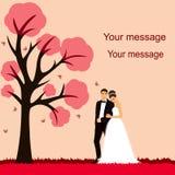 pannę młodą ceremonii ślub kościelny pana młodego Fotografia Royalty Free