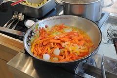 Panna av grönsaker Royaltyfri Foto