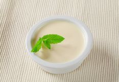 Panna cotta Royalty Free Stock Photo