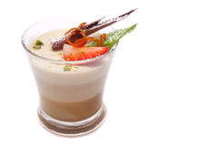 Panna cotta Royalty Free Stock Photography