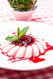 Panna cotta Royalty Free Stock Images